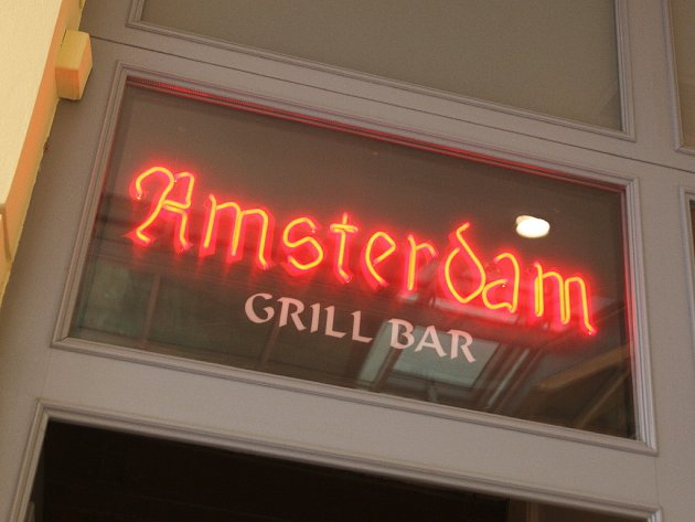Restaurace Amsterdam.