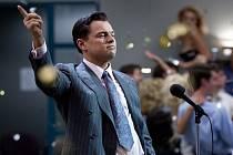 Leonardo di Caprio v titulní roli filmu Vlk z Wall Street.
