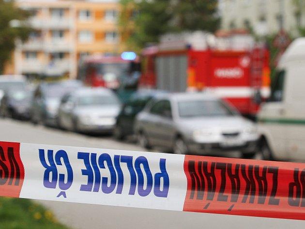 Zásah v Herčíkově ulici.