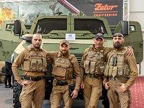 Zetor představil nové taktické obranné vozidlo.