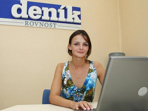 Mluvčí záchranné služby Barbora Zuchová.
