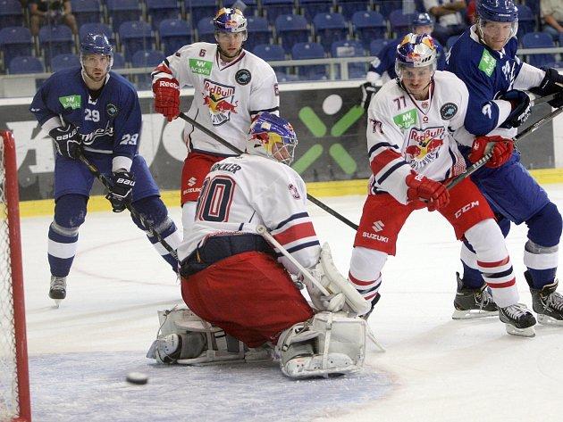 Brněnští hokejisté v letošním premiérovém vystoupení v European Trophy narazili a prohráli se Salcburkem 0:4