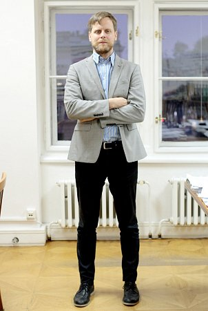 Ředitel Moravské galerie vBrně Jan Press.
