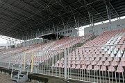 Fotbalový stadion v Srbské ulici v Brně.