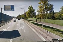 Mimoúrovňová křižovatka ulice Hlinky. Ilustrační foto