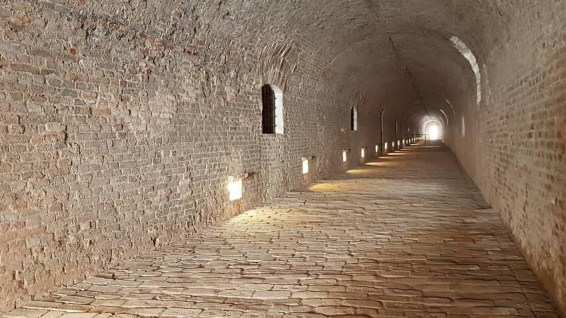 Brno 30.7.2020 - hrad Špilberk - Kasematy