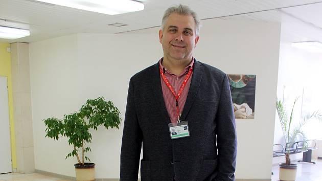 Náměstek ředitele Fakultní nemocnice Brno Ondřej Ludka.