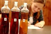 Nejlepší likér a pálenku různých druhů vybírala v sobotu večer porota na Kníničském lihobraní.