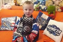 Můj syn Petřík je velký fanoušek! napsala fanynka a čtenářka Deníku Rovnost.