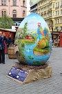 Na brněnském náměstí Svobody začaly Velikonoční slavnosti.