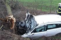 Nehoda se stala u Moravských Bránic.