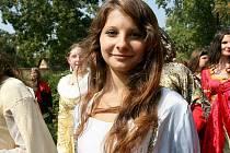 Víkendové Rytířské klání o srdce dívek a paní v Rosicích.