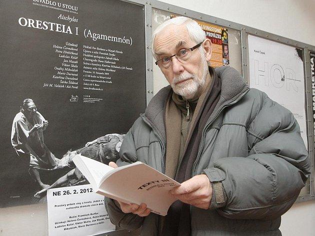 František Derfler slaví sedmdesáté narozeniny.