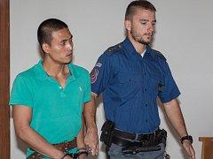 Osmadvacetiletému Van Tuan Doovi, který v pátek stanul před Krajským soudem v Brně, hrozí za vraždu a nedovolené ozbrojování až dvacet let vězení.