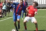 Premiérový ročník Souboje legend v malém fotbalu v Brně okořenila svojí účastí i stará garda slavné Barcelony.