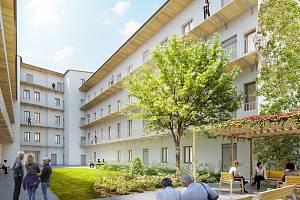 V nové byty se promění dva pavlačové domy na brněnském Cejlu.