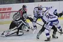 Hokejisté brněnské Komety v poklidu zvládli domácí utkání 24. kola extraligy, když porazili neoblíbenou Mladou Boleslav 3:0.