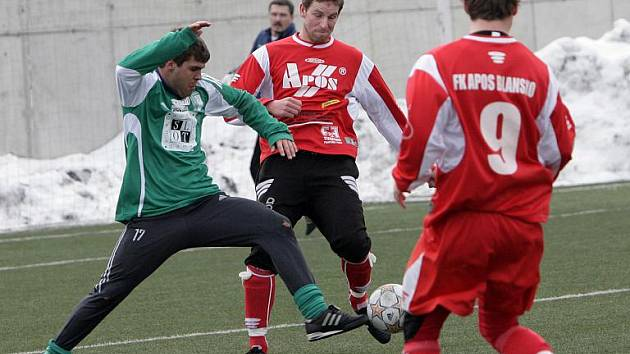 Fotbalisté Bystrce podlehli Blansku 0:2.