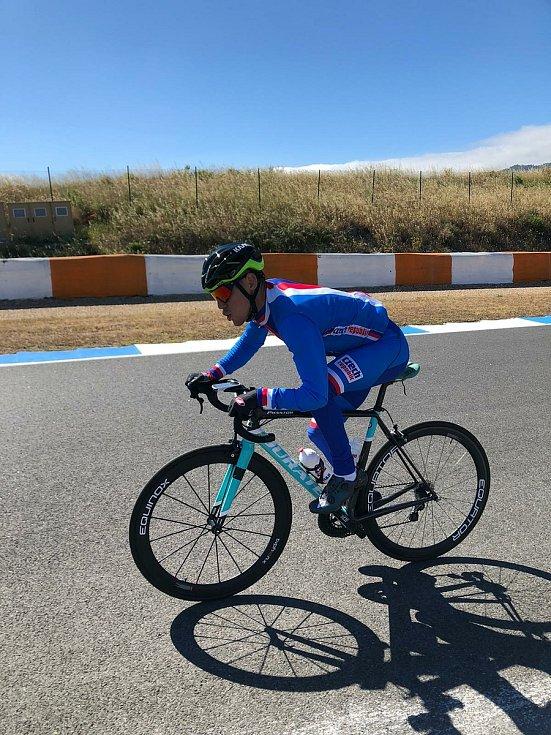 Hendikepovaný cyklista Ivo Koblasa