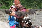 Akci Za tajemstvím středověku aneb pážata, panoši a rytíři ve znamení zubří hlavy si užili dospělí i děti.