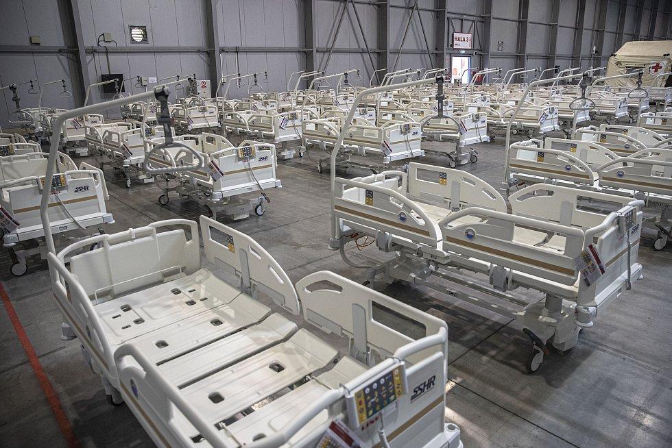 Polní nemocnice. Ilustrační foto