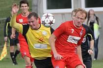 Líšeň ovládla derby proti Rosicím, vyhrála 2:0.