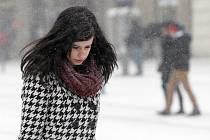 Zima se zatím nechce rozloučit. Poslední březnový týden začal v Brně vydatným sněžením.