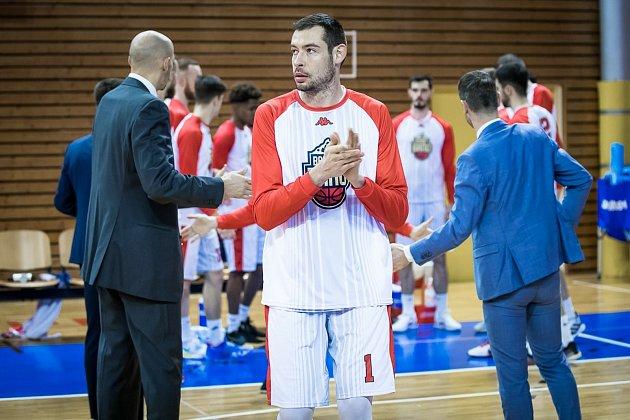 Aleksander Janev Georgijev se zatím jeví vdresu Basketu slibně.