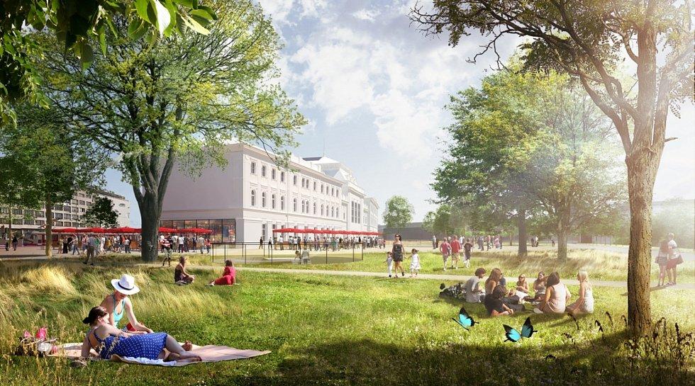 Ideový návrh možné podoby nového hlavního železničního nádraží a jeho širokého okolí v Brně, který pochází z ideové soutěže z roku 2016. Skončil v ní na prvním místě.