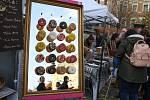Brněnské náměstí Svobody ožilo sladkostmi při Sweet dream festu.