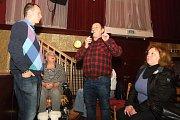 Debata k sociálnímu bydlení se konala v Dělnickém domě v brněnských Židenicích.