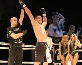 Tvrdé K.O. zasadil svému slovenskému protivníkovi Tomáši Šenkýrovi také borec brněnského klubu Muay Thai Vasil Ducár.