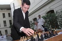 Česká šachová jednička David Navara.