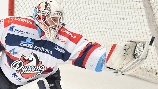Poslední sezony chytal znojemský rodák Ondřej Kacetl za Pardubice.