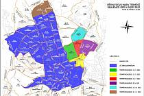 Harmonogram rozšiřování modrých zón v příštím roce.