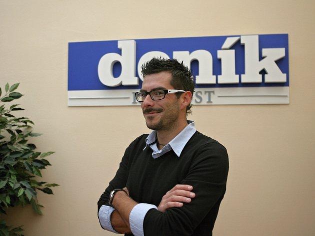 Petr Adam při online rozhovoru v Deníku Rovnost.