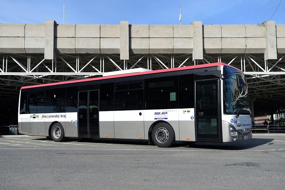 Autobusy v Jihomoravském kraji.