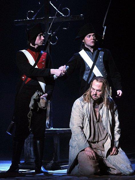 Brněnský herec Petr Gazdík ztvárnil v muzikálu Les Misérables (Bídníci) galejníka Jeana Valjeana.