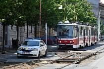 Rekonstrukce ulice Veveří v Brně, kde bude i nová zastávka Grohova.