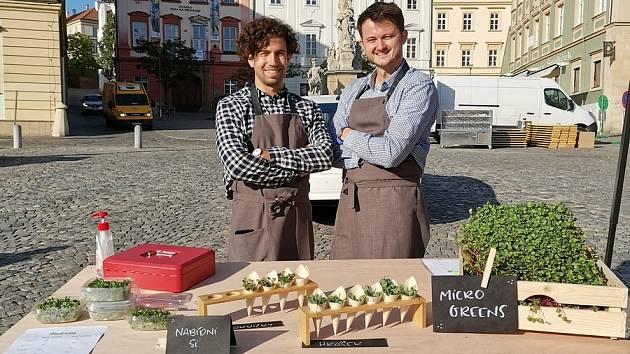 Brněnské pěstitele takzvaných microgreens v podnikání paradoxně nakopla koronavirová pandemie a s ní související vládní opatření.