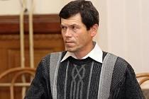 Karel Bašta u brněnského soudu.