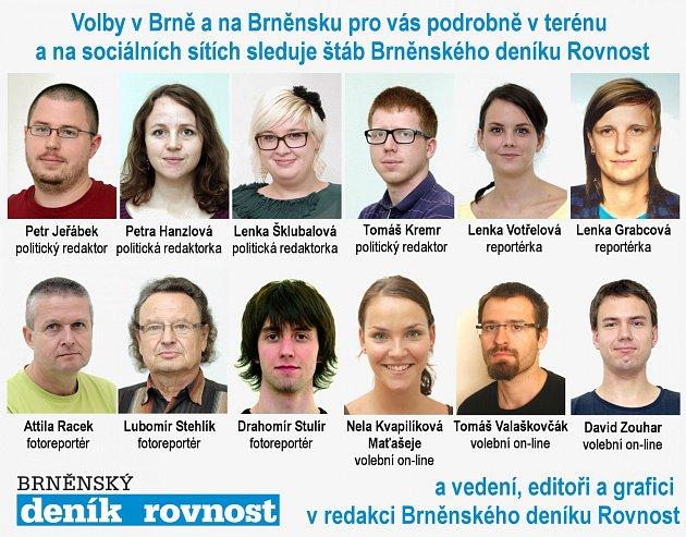 Volební tým Brno.