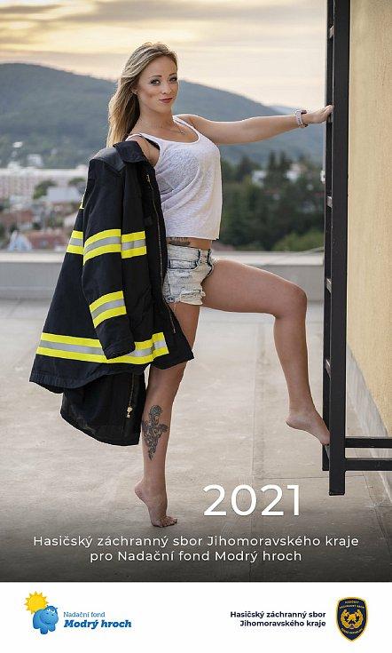 Kalendář jihomoravských hasičů pro rok 2021.