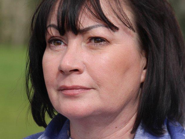 Manželka prezidenta České republiky Ivana Zemanová.