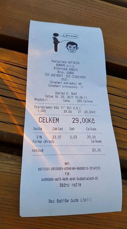 Různě zdobené účtenky Andreje Babiše neznepokojují. Považuje je za výraz české lidové tvořivosti.