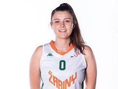 Basketbalistka Žabin Brno Kateřina Galíčková má stříbro z olympijských her mládeže.