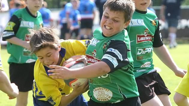 Největší český mládežnický turnaj v ragby se odehrál v Brně.