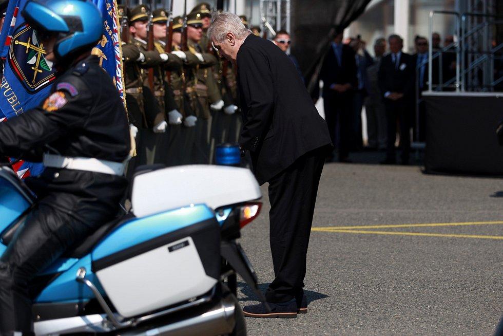 Třetí den návštěvy prezidenta České republiky Miloše Zemana v Jihomoravském kraji.