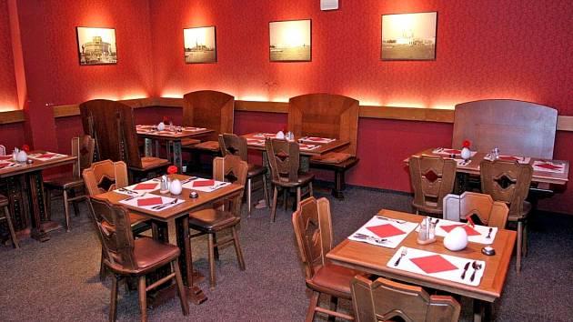 Restaurace La Rossa v areálu brněnského Bobycentra
