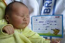 Mateo Stejskal, 30. 7. 2021, Březí u Mikulova, Nemocnice Břeclav, 3880 g, 52 cm